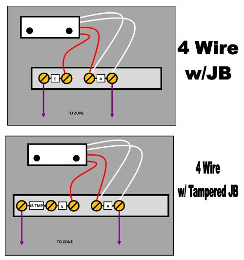 4 Wire JB configs