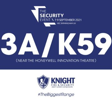 We are exhibiting at The Security Event 2021 at the NEC Birmingham on the 7th-9th September 2021!!