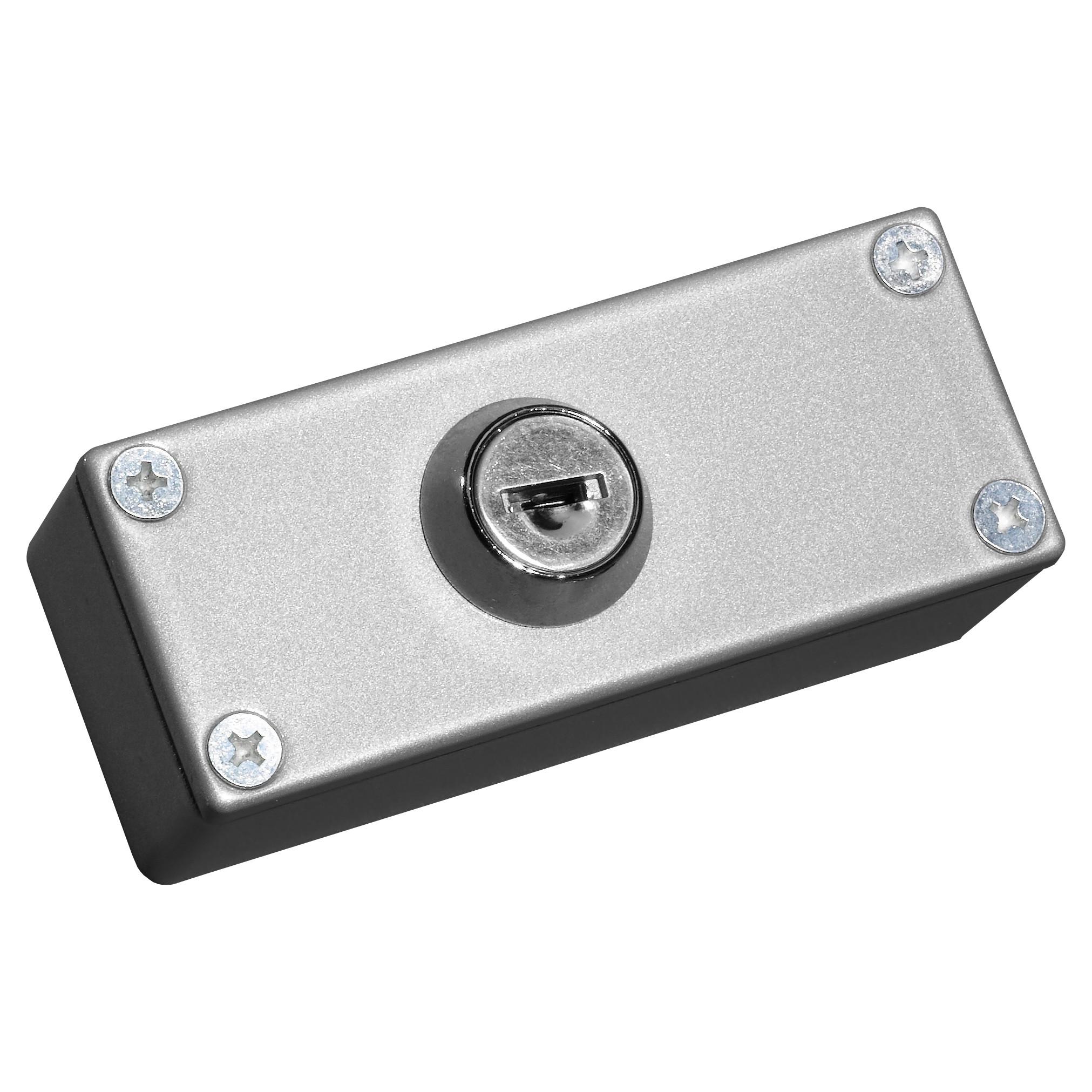 Pass Key Switch - Diecast Aluminium, Double Pole, Tampered, Keys ...