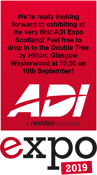 We're exhibiting at the first ever ADI Expo Scotland!!