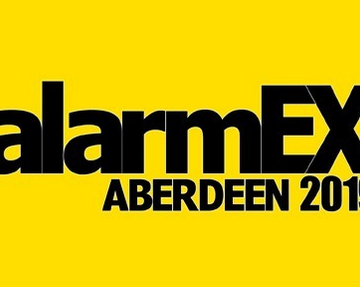 Come and see us at AlarmEx 2019, Aberdeen!!